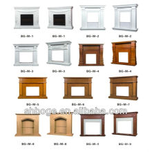 mantel for insert electric fireplace