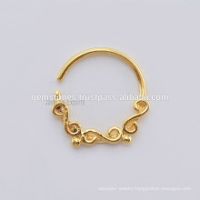 Wholesale Septum Nose Ring Piercing Jewelry, Handmade Septum Nose Ring Body Jewelry