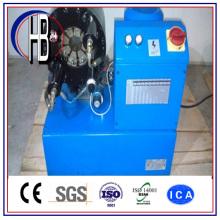 Máquina de friso da mangueira hidráulica de borracha do preço