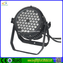 factory direct sell led par 54*3w rgbw outdoor lighting
