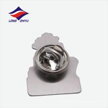 Emblema de lapela de liga de zinco simbólico de 2 pontos