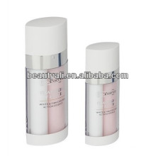 20ml 30ml 60ml dual chamber cosmetic airless bottle