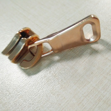 Torbalar için Rose Gold No.5 Brass Slider