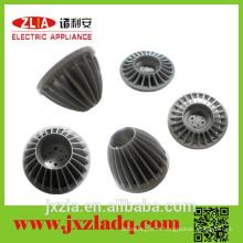 Radiateur circulaire en aluminium LED à distribution directe d'usine