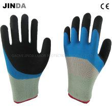 Guantes de protección de la mano con revestimiento de espuma de látex (LH313)