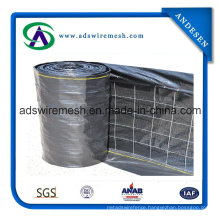 "Commercial PF 4""X4"" Wire Backed Silt Fence"