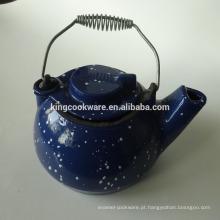 bule de chá de ferro fundido