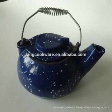 cast iron tea pot