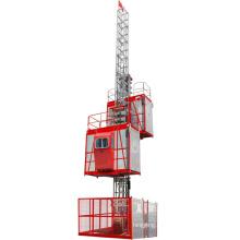 Two cages Construction elevator hoist 2000kgs