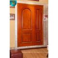 Puerta de madera, puerta principal, sólida Woor