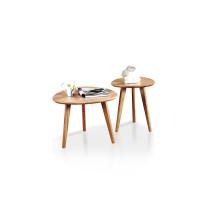 Современный деревянный журнальный столик