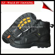 DESMA Zapatos de seguridad inyectados con parte superior de cuero