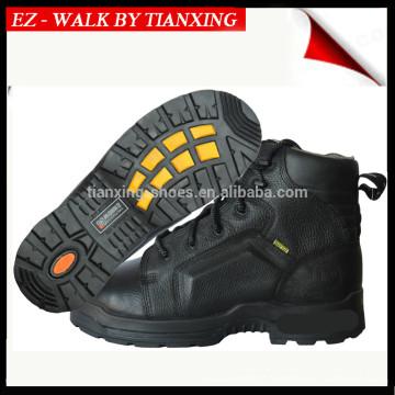 DESMA Sapatos de segurança injetados com superior de couro