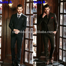 Top Rated Wedding Suits For Men 2014 Latest Long Sleeve One Button Business Suit Styles NB0555