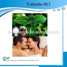 Haute qualité 98% de poudre de Yohimbine HCl à partir de l'extrait d'écorce de Yohimbe