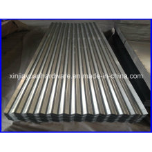 Feuille de toiture en acier ondulé galvanisé
