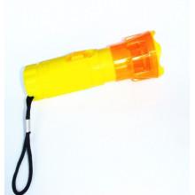 Plastik LED Trockene Batterie Taschenlampe (KC-42)