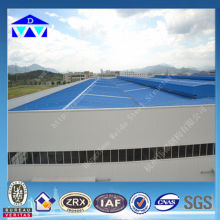 Flexible design of steel structure godown