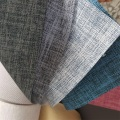 Plain Linen PU Leather for Sofa Cover Cushion