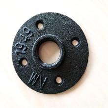 "1/2"" 3/4"" cast iron DIY furniture floor flange"