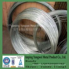 YW --- 12,14,16,18,20,21,22 calibre eletro galvanizado fio de ferro