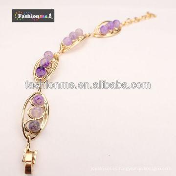 Pulseras de piedras preciosas ágata de Fashionme FA-B008-9