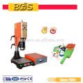 BDS Suply Preço de Alta Freqüência Industrial Usando 15 K Máquina De Solda De Plástico Ultra-sônico para PVC, PE, PP, tecido não tecido com CE
