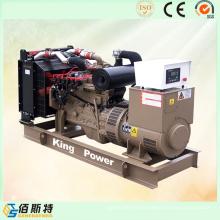 Grupo de generador de gas de metano de metano de motor enfriado por agua