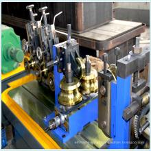 Tubulação de aço/tubo fria roll formando a linha de produção da máquina/soldada