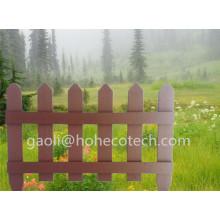 Clôture en bois composite en plastique de clôture de jardin en vinyle Rodentfree WPC garde-corps