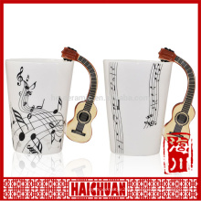 musical ceramic coffee mug cup
