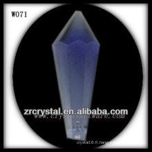 Sharp, Face Cut, perles de cristal W071