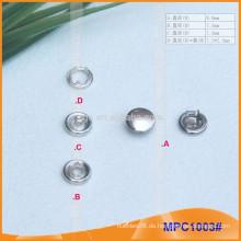 Metall Kappe Prong Snap Button MPC1003