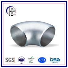 304/316 Butt Weld acier inoxydable 90 degrés court rayon coude avec le meilleur prix