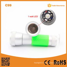 2015 Cheapest C99 1W LED 3xaaa Multifunction LED Working Light