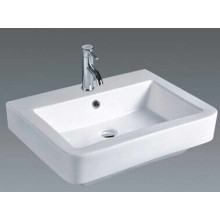 Умывальник для ванной комнаты прямоугольной формы (026)