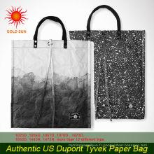 Échantillon gratuit haute qualité promotion papier cadeau sac à provisions promotion tyvek papier sac