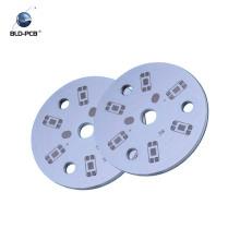 PCB de aluminio de alta tensión para led, placa de pcb