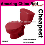 ceramic bathroom color two piece toilet siphonic water closet for house project
