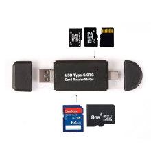 USB-C OTG Multifunktionskartenleser