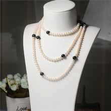 Leading for Heart Pendant Necklace Three Strands Pearl Necklace supply to Venezuela Factory