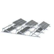 Système de support de picovolte d'énergie solaire de 250KW ballasté les systèmes de défilement solaire