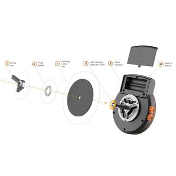 Bluetooth BBQ Thermometer mit kostenloser App