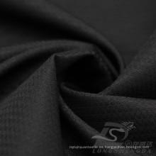 Resistente al agua y al aire libre ropa deportiva al aire libre chaqueta tejida tejida Jacquard 100% poliéster Pongee tela (E047)