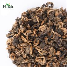 Thé rouge de Finch EU Yunnan (Hong Jin Luo) en vrac pour l'exportation