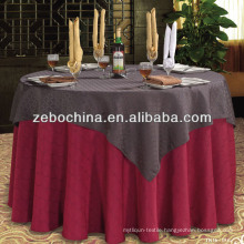 Fashion design direct factory made polyster wholesale table cloth wedding