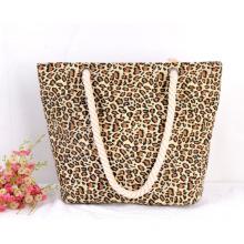 YRYB-0035,China manufacturer direct sale fashion canvas leisure female's shopping large capacity beach bag