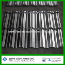 Stein beschichtete Metall Dach Stahl Dachziegel Walze Formmaschine