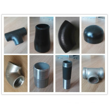 2015 hot sale schedule 40 steel pipe fittings tee