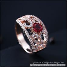 Anel de casamento de zircão VAGULA moda (Hlr14174)